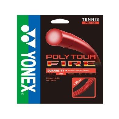Yonex Poly Tour Fire rot Tennissaite