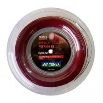 Yonex Poly Tour Spin G dunkelrot 200 Meter Rolle