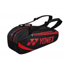 Yonex Racketbag Tournament Active 2019 schwarz/rot 6er