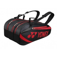 Yonex Racketbag Tournament Active 2019 schwarz/rot 9er