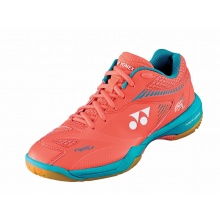 Yonex SHB Power Cushion 65 Z2 2020 koralle Badmintonschuhe Damen