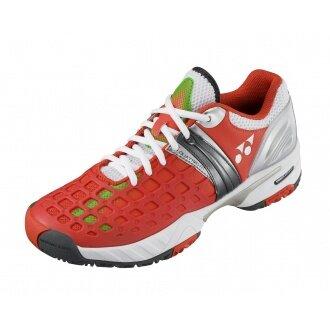 Yonex SHT Pro Allcourt 2014 orange Tennisschuhe Herren (Größe 40,5)