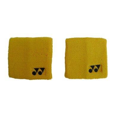 Yonex Schweissband gelb 2er
