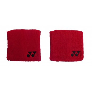 Yonex Schweissband rot 2er
