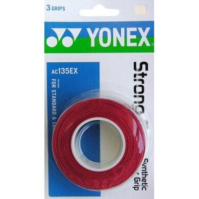 Yonex Strong Overgrip 3er rot
