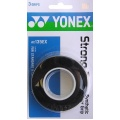 Yonex Strong Overgrip 3er schwarz