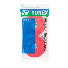 Yonex Super Grap 0.6mm Overgrip 30er weinrot