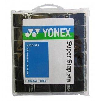 Yonex Super Grap 12er schwarz