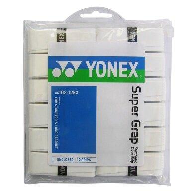 Yonex Overgrip Super Grap 0.6mm weiss 12er