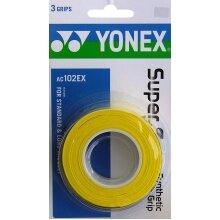 Yonex Overgrip Super Grap 0.6mm gelb 3er