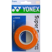 Yonex Super Grap 0.6mm Overgrip 3er orange