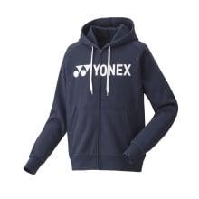 Yonex Kapuzenhoodie Full Zip Logo 2020 navyblau Herren