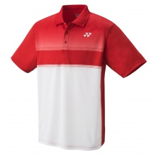 Yonex Polo Club Team 2020 rot/weiss Herren