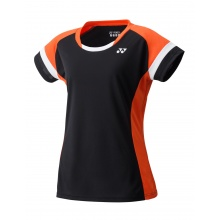 Yonex Shirt Team 2018 schwarz/orange Damen