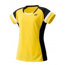 Yonex Shirt Team 2018 gelb/schwarz Damen