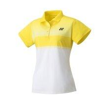 Yonex Polo Club Team 2020 gelb/weiss Damen