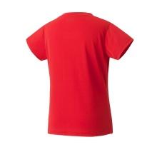 Yonex Tshirt Club Team 2020 rot Damen