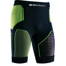X-Bionic Golf Effektor Power Pant Short charcoal/gelb Herren