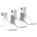 adidas Sportsocken Ankle weiss 3er