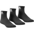 adidas Sportsocken Ankle schwarz 3er