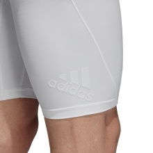 adidas Tight Alphaskin Tech Climachill weiss Herren