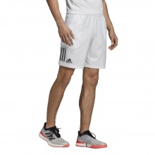 adidas Short Club 3 Stripes 2019 weiss Herren