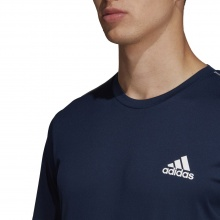 adidas Tshirt Club 3 Stripes 2020 navy Herren