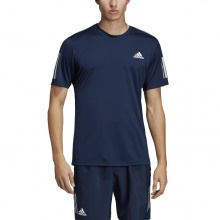 adidas Tshirt Club 3 Stripes 2019 navy Herren