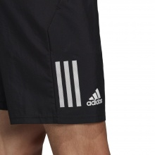 adidas Tennishose Short Club 3 Stripes kurz schwarz Herren