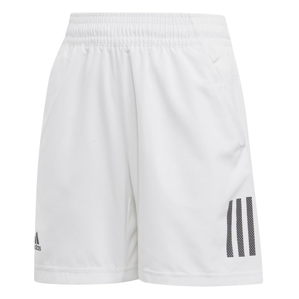 adidas Short Club 3 Stripes 2019 weiss Boys