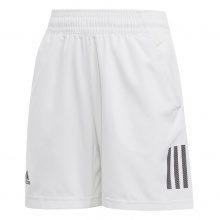 adidas Short Club 3 Stripes 2019 weiss Boys