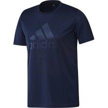 adidas Tshirt BT NGA Badminton 2019 dunkelblau Herren