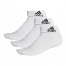adidas Sportsocken Ankle Cushion weiss 3er