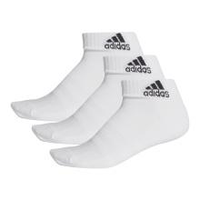 adidas Sportsocken Ankle Cushion weiss - 3 Paar