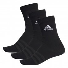 adidas Sportsocken Crew Light schwarz 3er