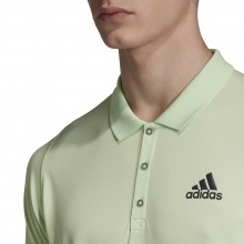 adidas Tennis-Polo New York lime Herren