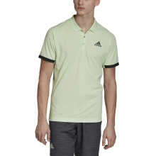 adidas Polo New York 2019 lime Herren