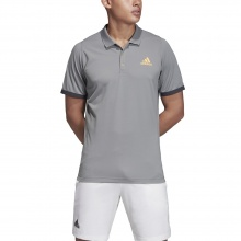 adidas Polo New York 2019 grau Herren