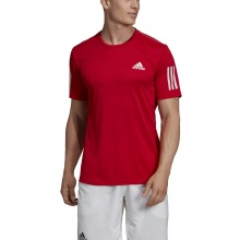 adidas Tshirt Club 3 Stripes 2019 rot Herren