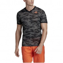 adidas Tshirt Freelift Primeblue 2020 schwarz/orange Herren