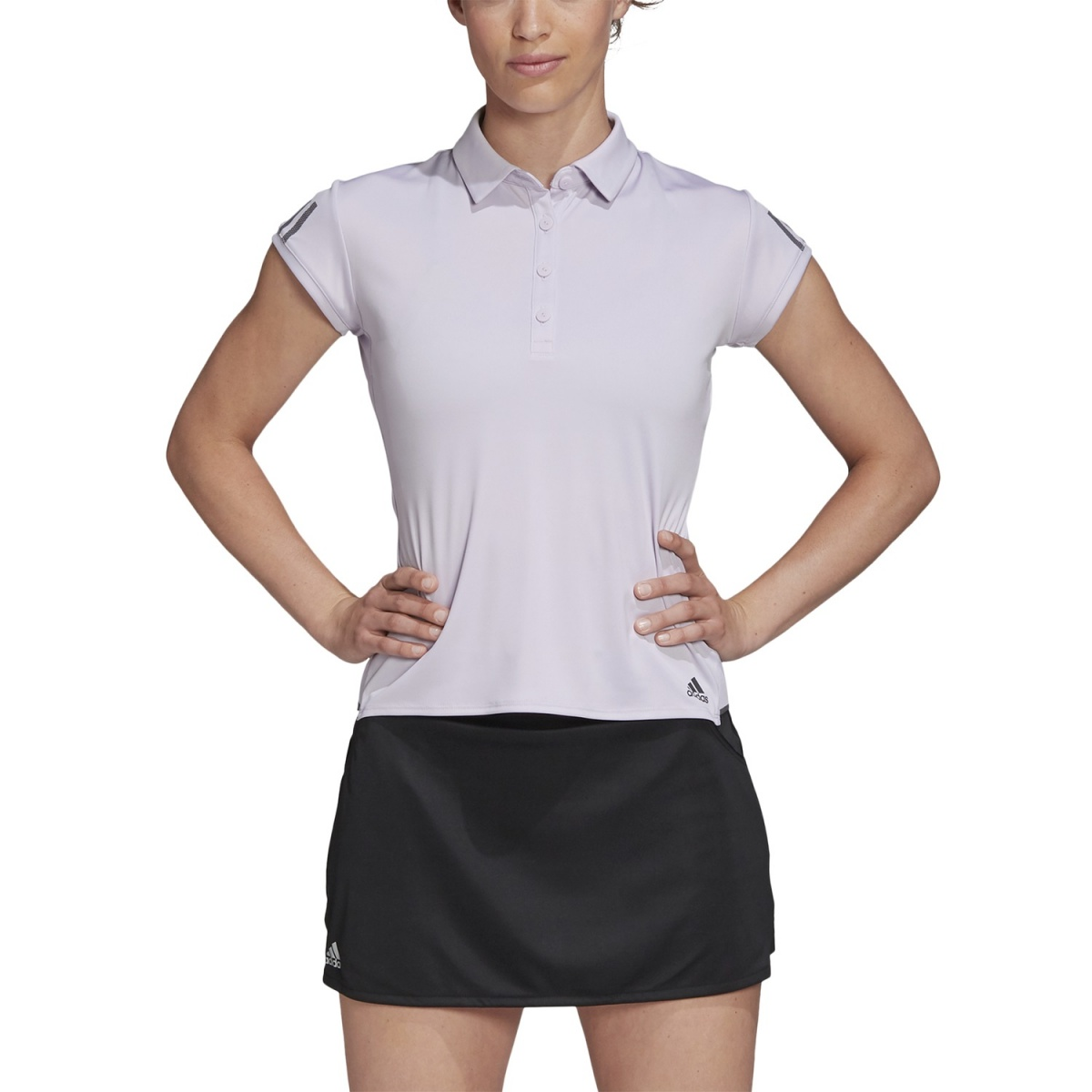 adidas Polo Club 3 Stripes 2020 flieder Damen online bestellen