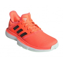 adidas SoleCourt 2020 orange Tennisschuhe Kinder