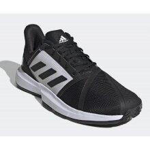 adidas CourtJam Bounce Clay 2021 schwarz/weiss Sandplatz-Tennisschuhe Herren