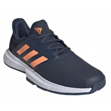 adidas GameCourt 2021 navy/orange Allcourt-Tennisschuhe Herren