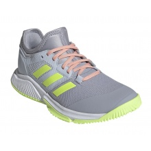 adidas Court Team Bounce 2021 grau Indoor-Hallenschuhe Damen