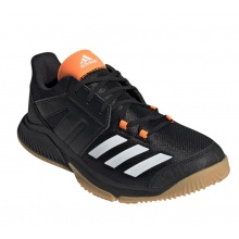 adidas Essence schwarz/orange Indoorschuhe Herren