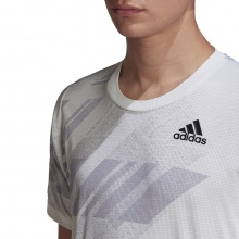 adidas Tshirt Freelift Printed Heat RDY 2020 weiss Herren