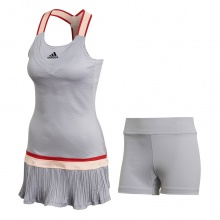 adidas Tenniskleid (Dress) Y Heat Dry grau Damen