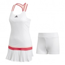 adidas Tenniskleid (Dress) Y Heat Dry weiss Damen