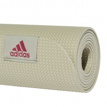 adidas Fitness Yogamatte Perforated 61,5x176,5cm halo grün